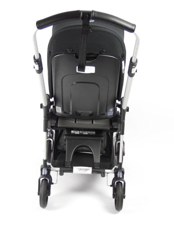 Bugaboo® bee 5 kinderwagen met stoel en wieg - aluminium - zwart