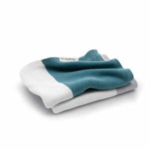 Bugaboo® licht katoenen deken - petrol blue multi
