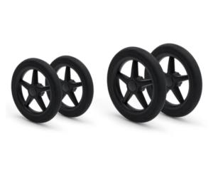 Bugaboo® donkey/buffalo vervangende set wielen - zwart