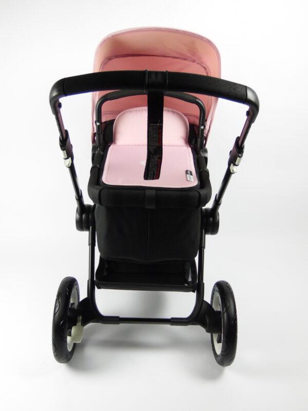 Bugaboo® buffalo kinderwagen - zwart - zwart - zachtroze