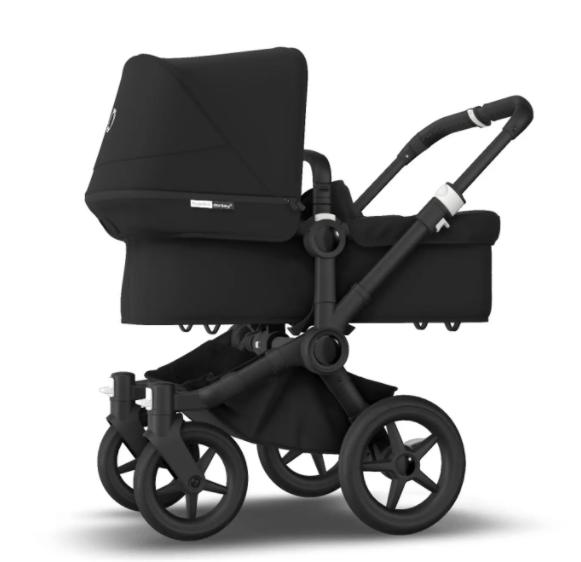 Bugaboo® donkey 3 mono kinderwagen - all black