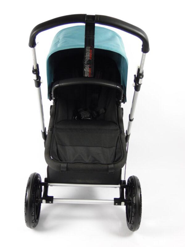 Bugaboo® cameleon 3 kinderwagen - zwart - petrolblauw
