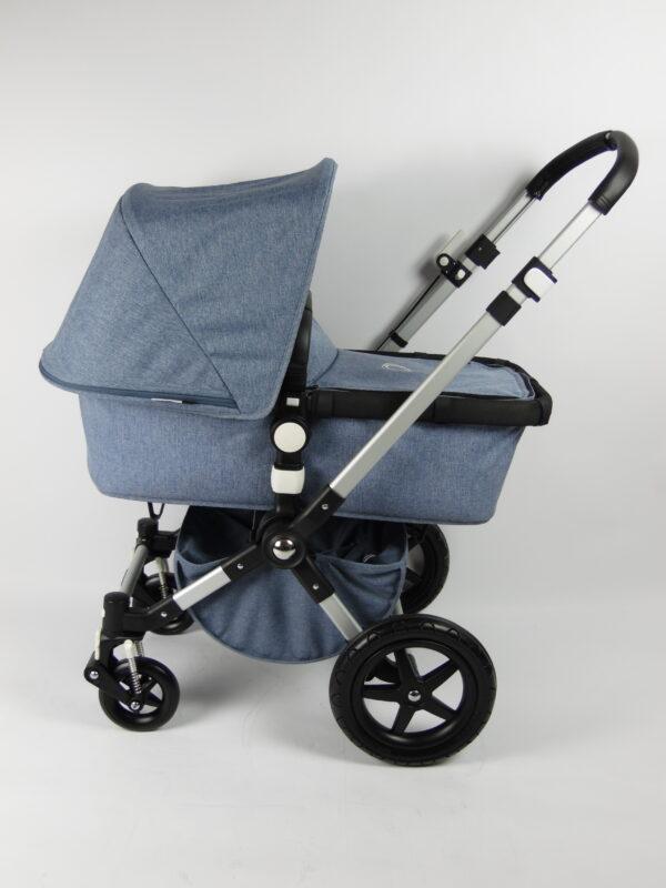 Bugaboo® cameleon 3 kinderwagen - blue melange