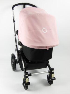 Bugaboo® cameleon 3 kinderwagen - alu/black/soft pink
