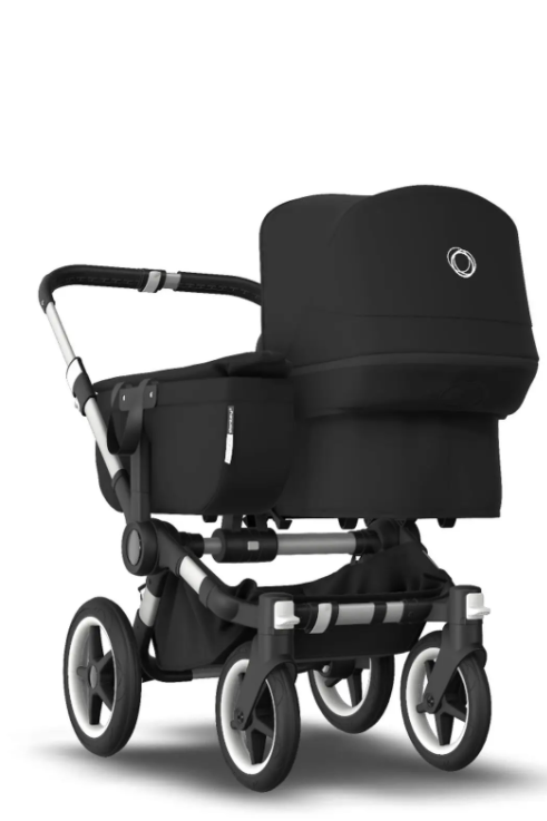 Bugaboo® donkey 3 mono kinderwagen - alu/black/black