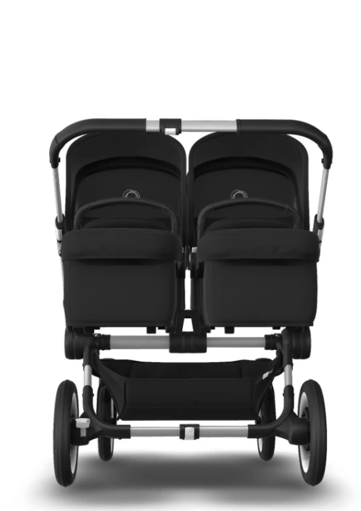 Bugaboo® donkey 3 twin kinderwagen - alu/black/black