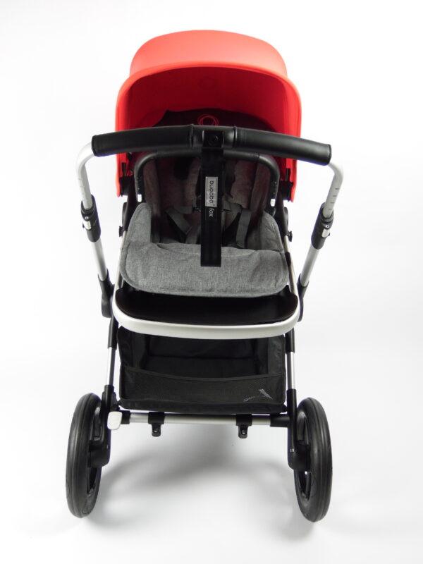 Bugaboo® fox 1 kinderwagen - alu/grey/neon