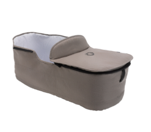 Bugaboo® fox wiegbekleding en wiegdekje - mineral taupe