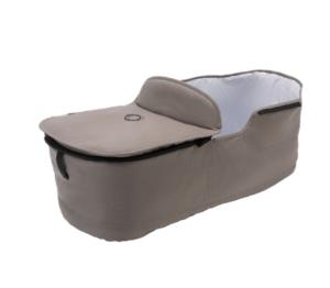 Bugaboo® fox bekledingset voor de wieg - mineral taupe