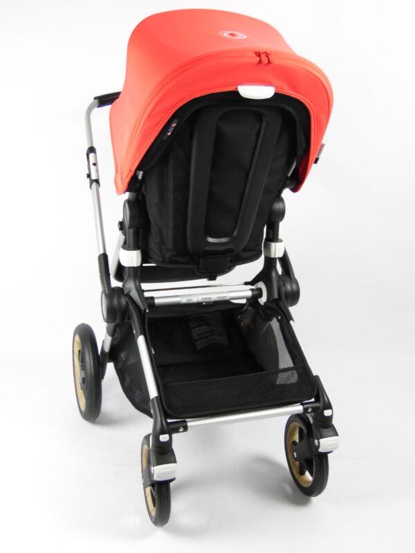Bugaboo® fox 1 kinderwagen - alu/black/neon