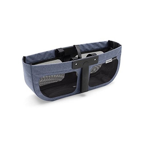 Bugaboo® donkey 2 bagagemand aan de zijkant - blue melange