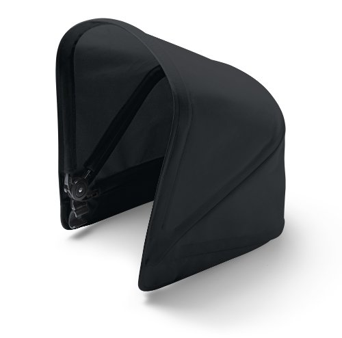Bugaboo® donkey 1 zonnekap - black