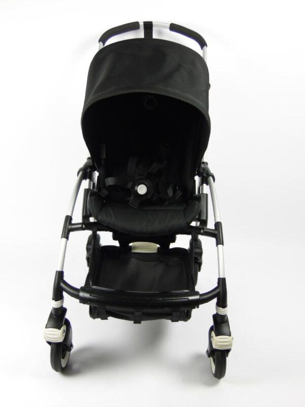 Bugaboo® bee 3 kinderwagen met stoel - alu/black