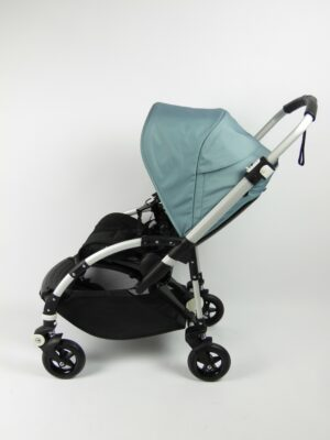 Bugaboo® bee 5 kinderwagen met stoel - aluminium/black/track