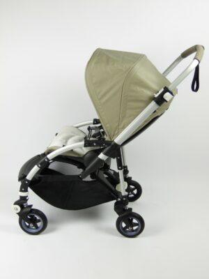 Bugaboo® bee 5 kinderwagen met stoel - alu/tone