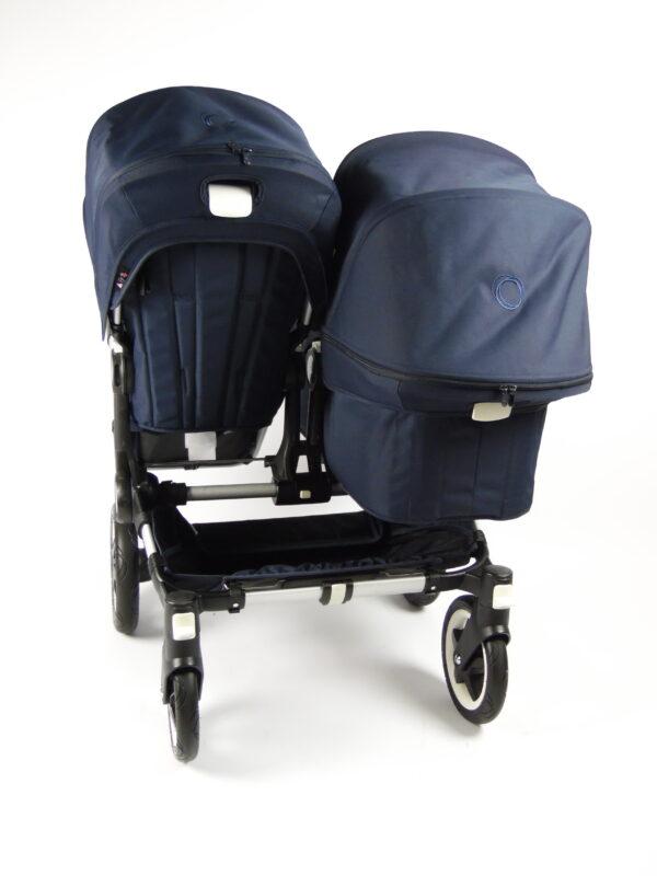 Bugaboo® donkey duo kinderwagen - classic navy blue