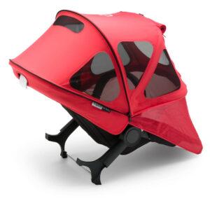 Bugaboo® donkey breezy zonnekap - neon red