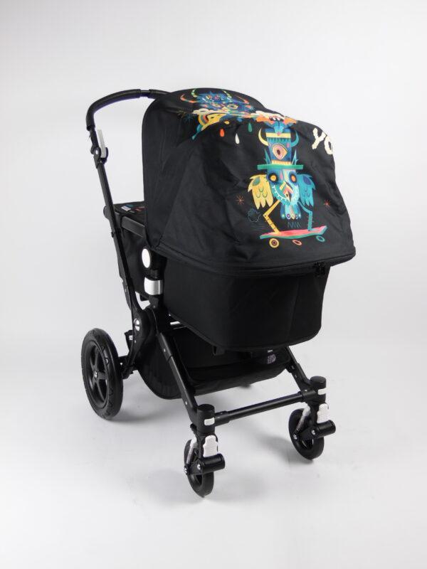 Bugaboo® cameleon 3 kinderwagen - black/black/Niark1