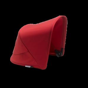 Bugaboo® fox2/cameleon3/lynx zonnekap - red