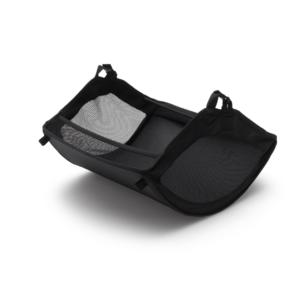 Bugaboo® donkey 3 bagagemand onder de stoel - black