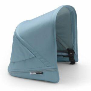 Bugaboo® donkey 3 zonnekap - vapor blue