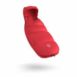 Bugaboo® high performance voetenzak - neon red