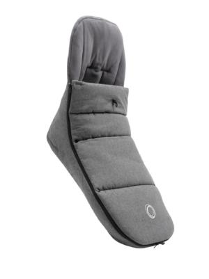 Bugaboo® voetenzak - grey melange