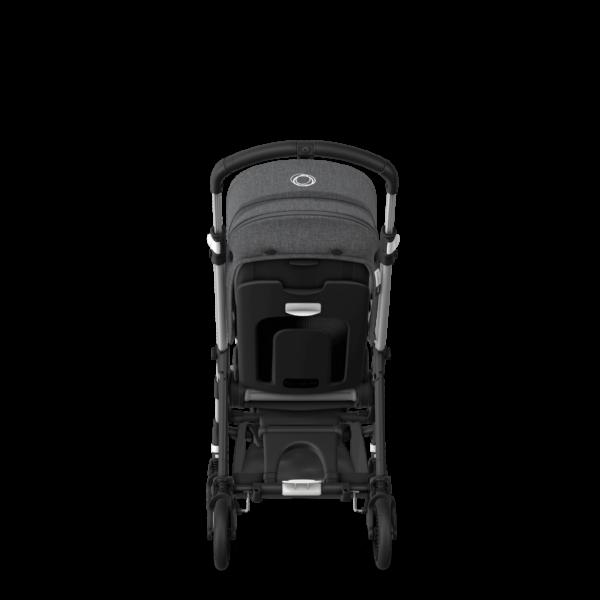 Bugaboo® bee 6 kinderwagen met stoel - alu/grey melange