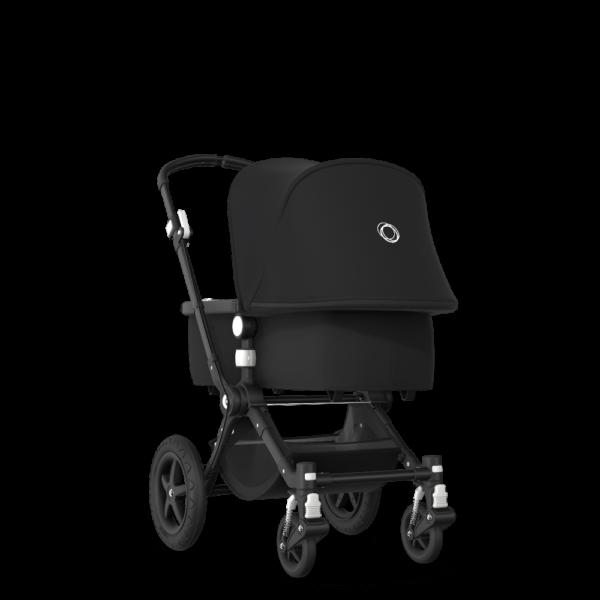 Bugaboo® cameleon 3 plus kinderwagen - black/black/black