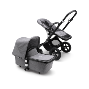 Bugaboo® cameleon 3 kinderwagen - black/grey melange