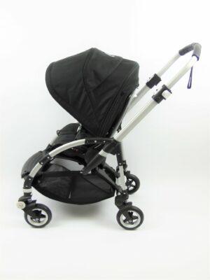 Bugaboo® bee 5 kinderwagen met stoel - alu/black/black